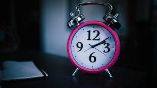 目覚ましアラーム無しでの睡眠時間を知っていますか